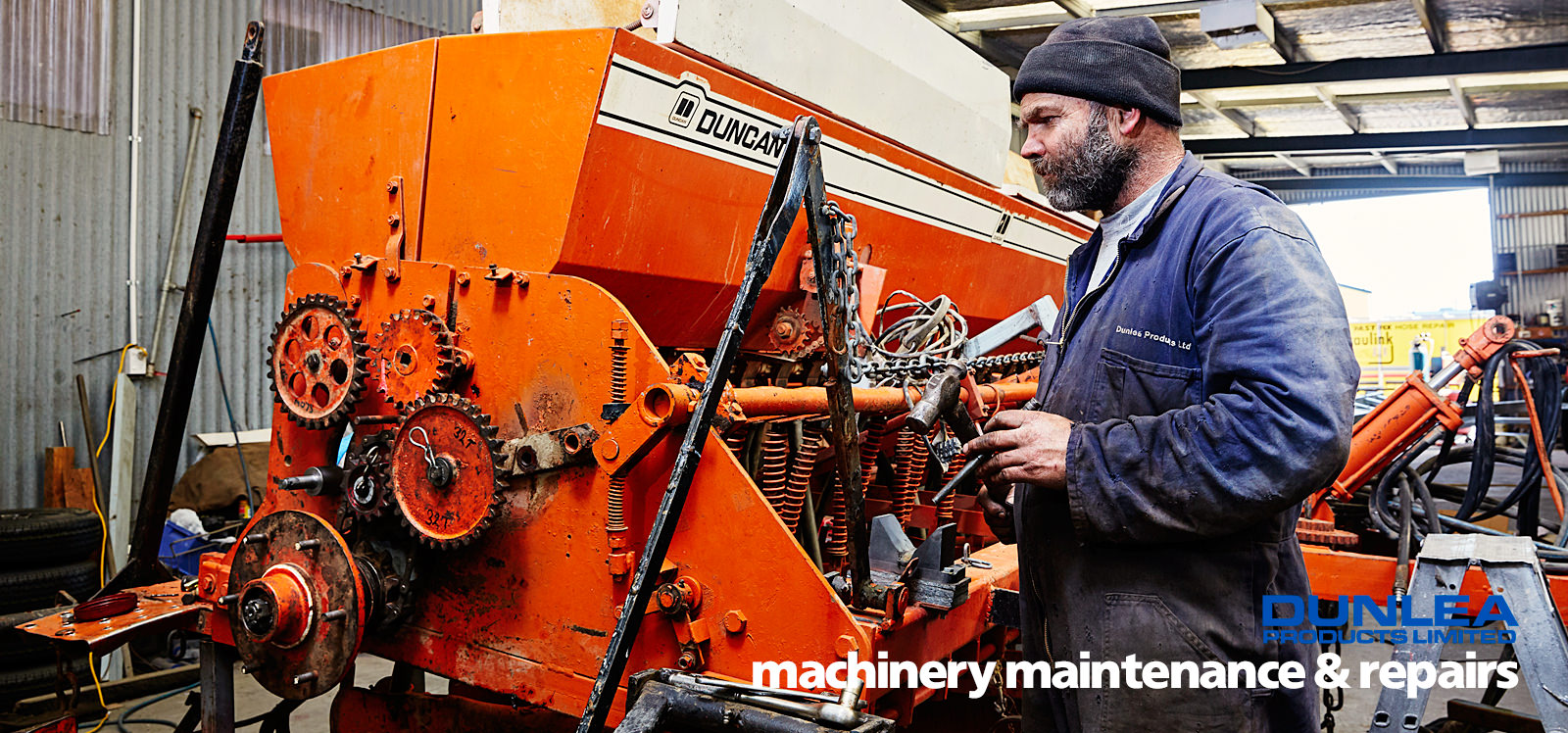 Dunlea Products metal machinery maintenance & repairs