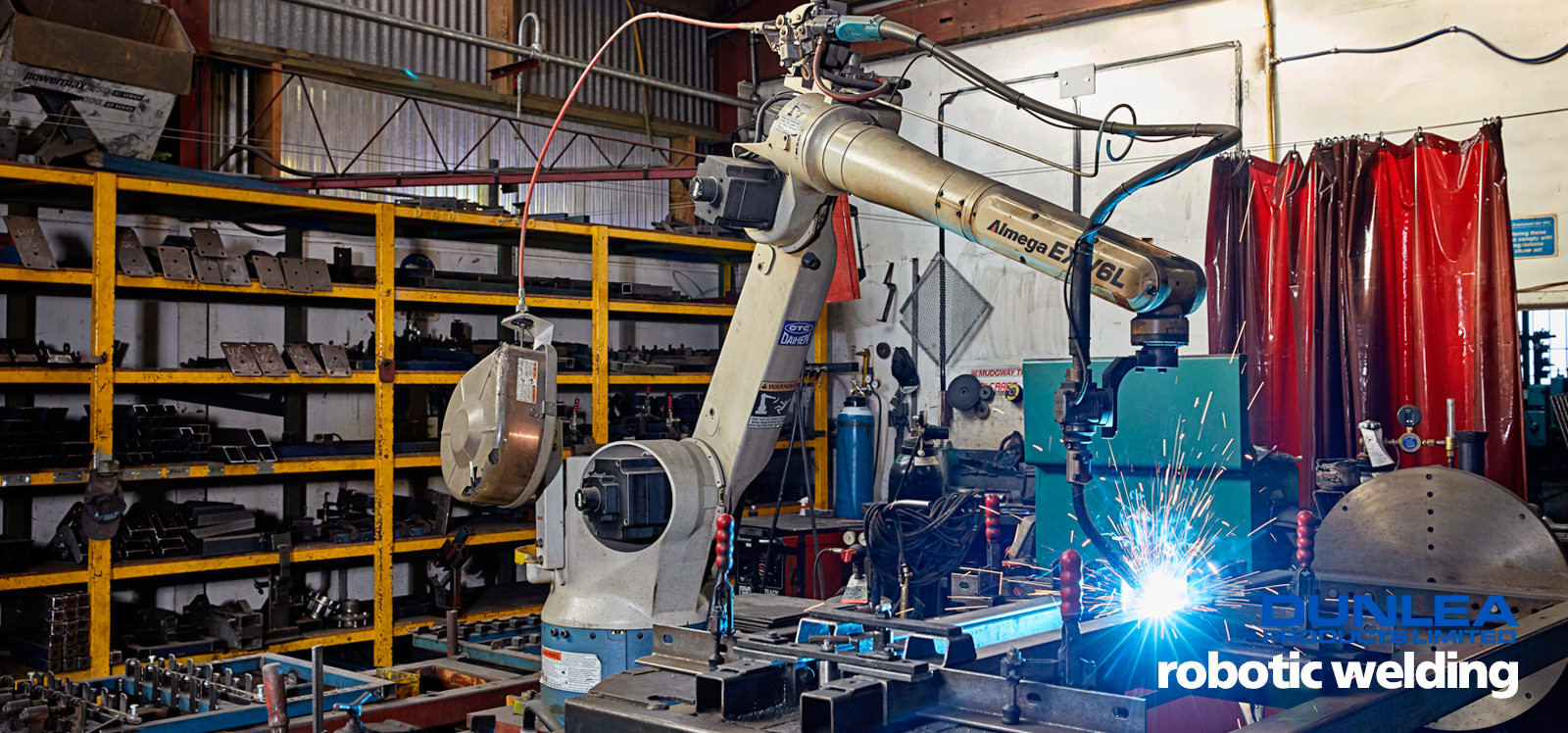 Dunlea Products robotic welding