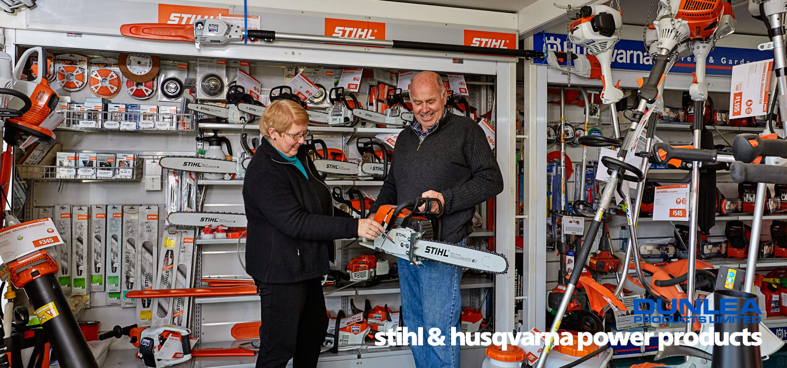 Dunlea Products Stihl & Husqvarna sales