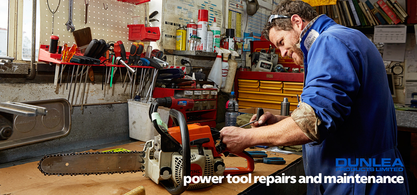 Dunlea Products power tool repairs